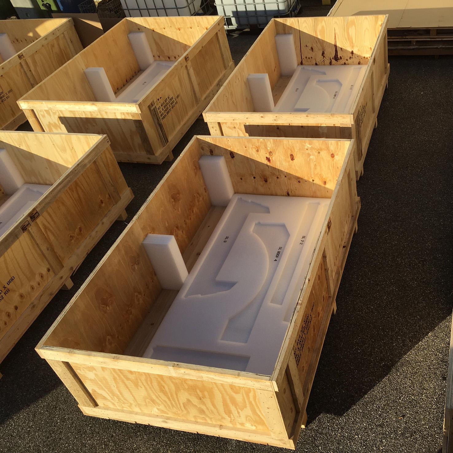 Expert en emballages multimat riaux large gamme ajm emballages - Petite caisse en bois ...